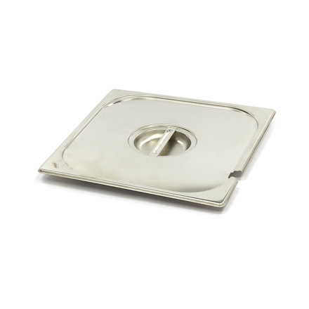 Maxima Stainless Steel Gastronorm Lid 2/3GN | With Recess