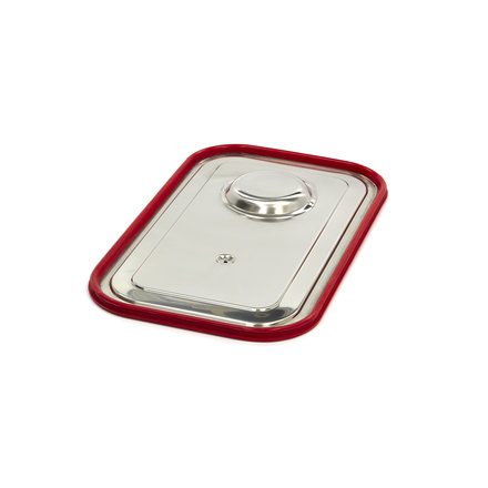 Maxima Stainless Steel Gastronorm Lid 1/1GN   Airtight Seal