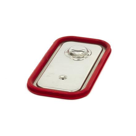 Maxima Gastronorm Deckel aus Edelstahl 1/3GN | Luftdichte Dichtung