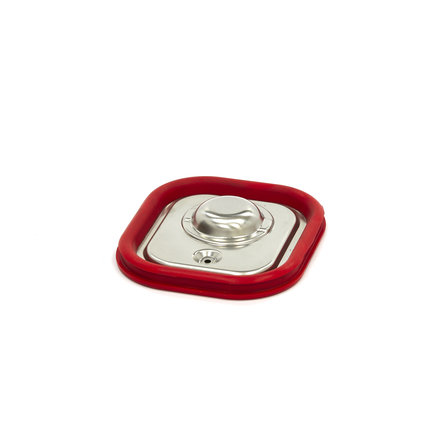 Maxima Stainless Steel Gastronorm Lid 1/6GN   Airtight Seal