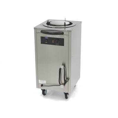 Maxima Aquecedor de pratos / Dispensador de pratos 40 peças até 30 cm