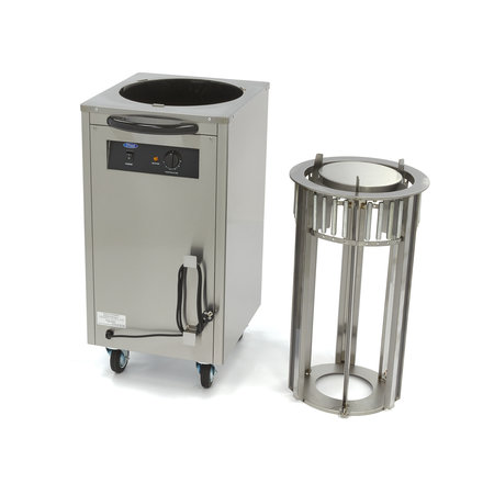 Maxima Wärmeschrank Tellerwärmer - Teller bis Ø 30 cm - bis zu 40 Teller - 400 Watt