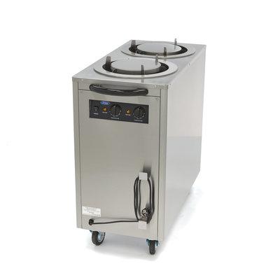 Maxima Aquecedor de pratos / dispensador de pratos 80 peças até 30 cm