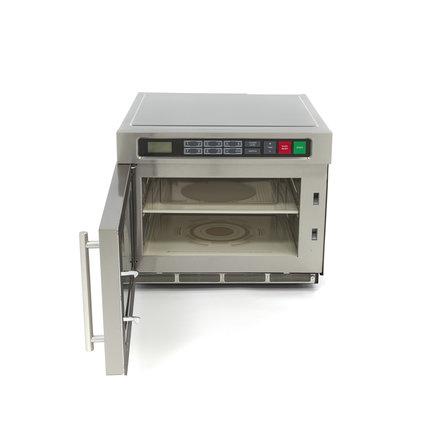 Maxima Gastro Mikrowelle - 30 l - 20 Programme - mit 2 Mikrowellenröhren- 900/1800 Watt