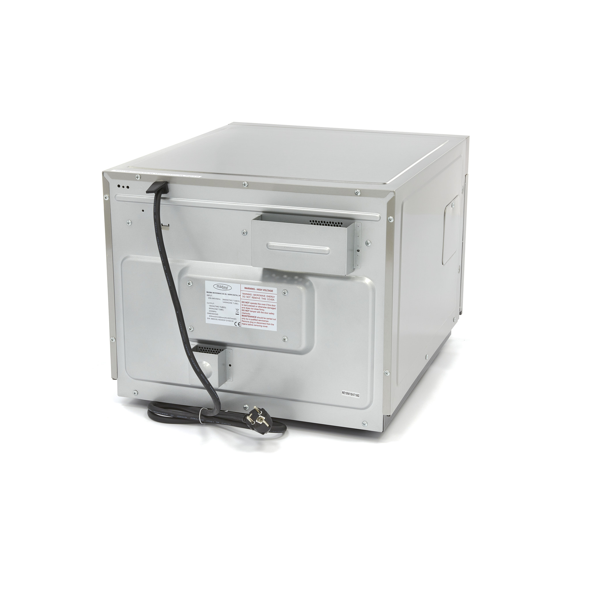 Professional Microwave 30l 1800w Programmable Double