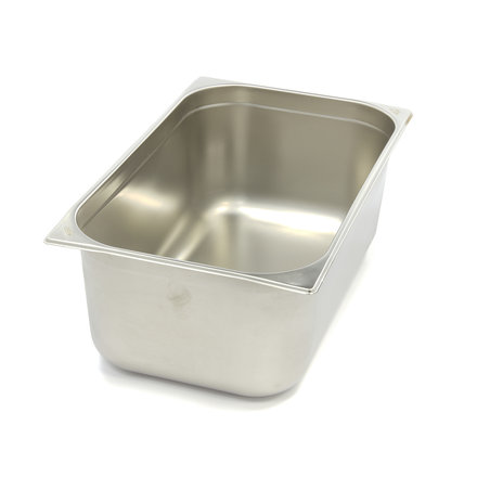 Maxima Stainless Steel Gastronorm Container 1/1GN | 200mm | 530x325mm