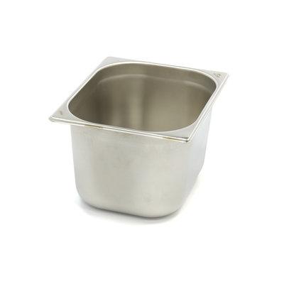 Maxima Gastronormbehälter aus Edelstahl 1/2GN   200mm   325x265mm