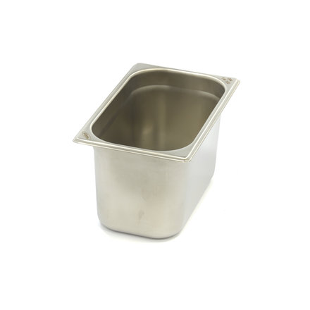 Maxima Stainless Steel Gastronorm Container 1/4GN | 150mm | 265x162mm