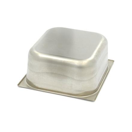 Maxima Gastronormbehälter aus Edelstahl 2/3GN   150mm   325x354mm