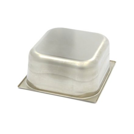 Maxima Stainless Steel Gastronorm Container 2/3GN | 150mm | 325x354mm