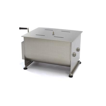 Maxima Handmatige Vleesmixer / Vleesmenger 50 Liter - Dubbele As