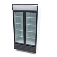 Maxima Affichage refroidisseur / Réfrigérateur à Bouteilles 800L