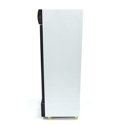 Maxima Displaykühlschrank / Dosenkühlschrank - 800 l - 0 bis 10 °C - mit 2 Drehtüren und 4 Rollen - 560 Watt