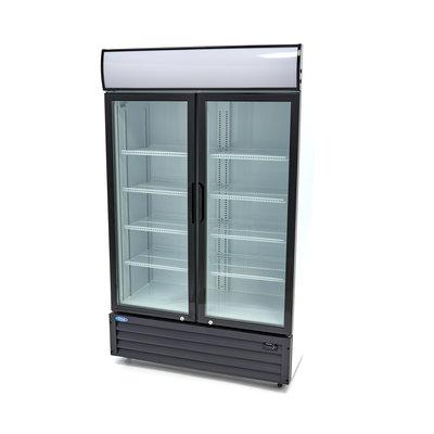 Maxima Displaykühler / Getränkekühlschrank / Flaschenkühler 700L