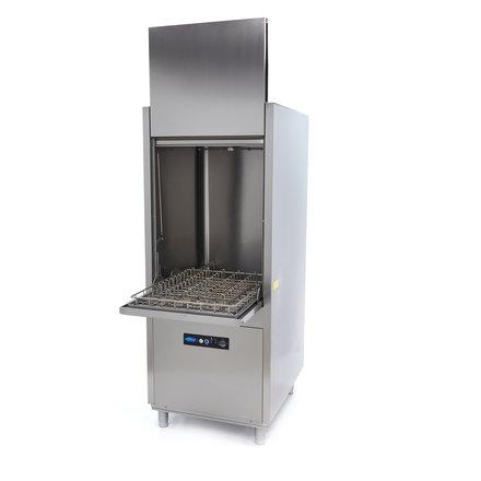 Maxima Gastro Geschirrspülmaschine für Pfannen - 600 x 760 mm - < 80 dB - leise - umweltfreundlich - 16700 Watt - 400 V