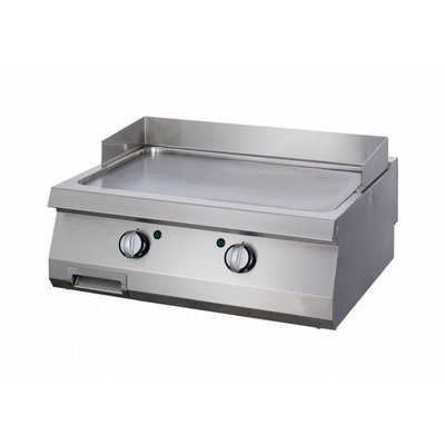 Maxima Heavy Duty Griddle Smooth Chrome - Double - Gas