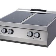 Maxima Heavy Duty Cuisinière Infrarouge - 4 Brûleurs - Électrique