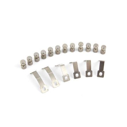 Maxima Straight Glass Support Set