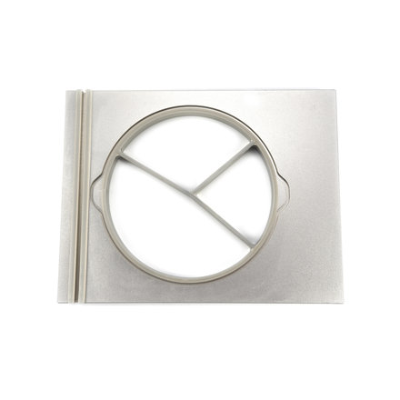 Maxima Pearl Round Tray Ø 250 mm - Large - 3 Compartments