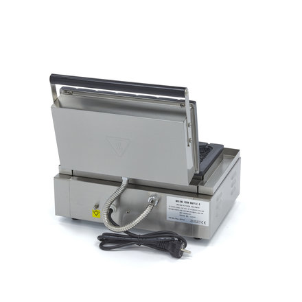 Maxima Gastro Waffeleisen Hot Dog am Stiel - 6 Stück - 38 x 160 mm (je Hot Dog) - 1500 Watt