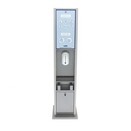 Maxima Automatischer berührungsloser Desinfektionsspender - Ständer - 1 l - mit Sensor