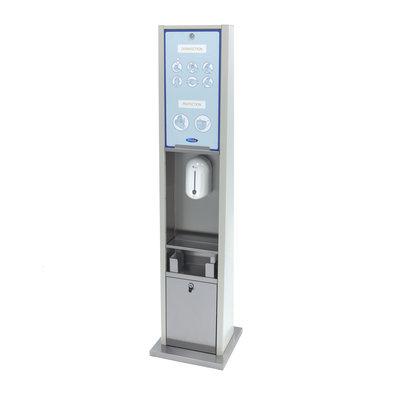 Maxima Deluxe Contactloze Desinfectiezuil incl. Automatische Dispenser