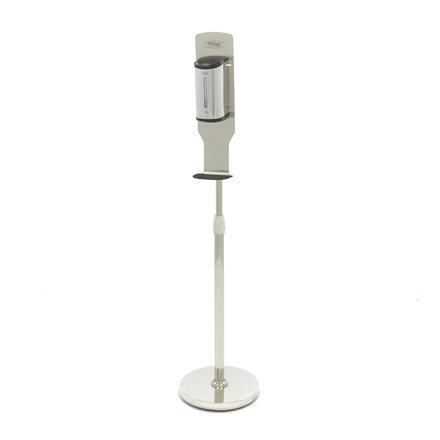 Maxima Contactloze Desinfectiezuil incl. Automatische Dispenser Zilver