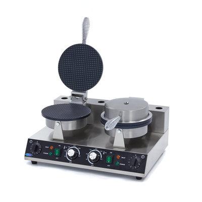 Maxima Cone de Sorvete para Waffle Maker - Duplo