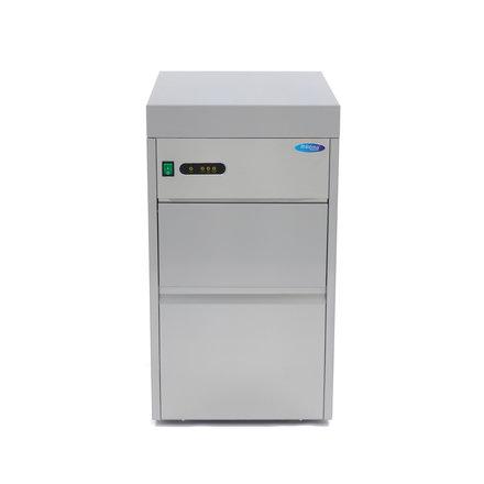 Maxima Gastro Ice Crusher - 50 kg/24h - 10 kg Speicher - Wassergekühlt - 330 Watt