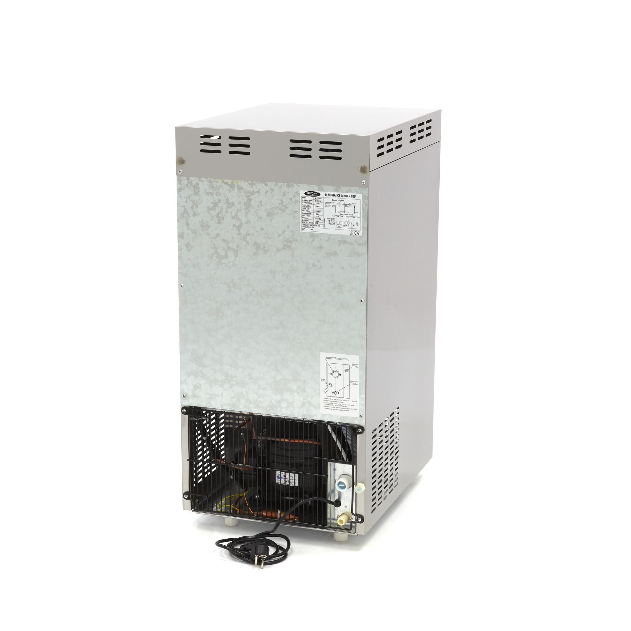 Flake Ice Crushed Ice Machine M Ice 85 Flake Water Cooled Maxima Kitchen Equipment