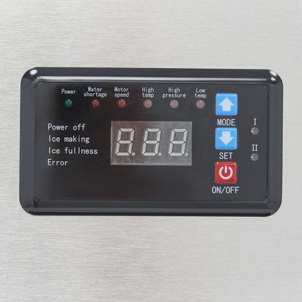 Maxima Gastro Ice Crusher - 250 kg/24h - 120 kg Speicher - Wassergekühlt - 960 Watt