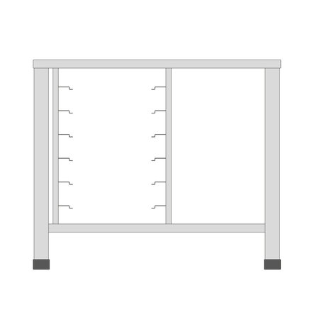 Maxima Table for Steamer 7X 1/1 GN