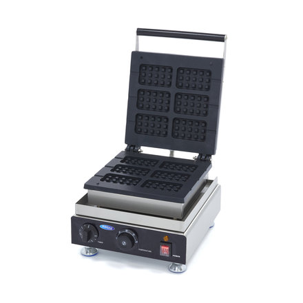 Maxima Waffle Iron Lolly Brussels Waffle on Stick - 6 pieces