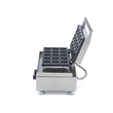 Maxima Gastro Donut-Maschine Mini - 15 Stück - Ø 45 x 20 mm - mit Timer - 1750 Watt