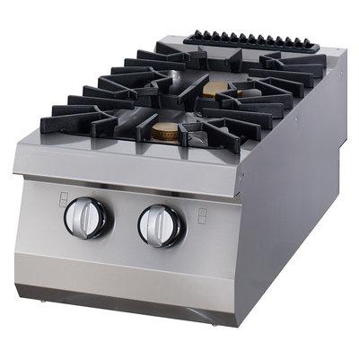 Maxima Premium Kookplaat - 2 Pitten - Gas