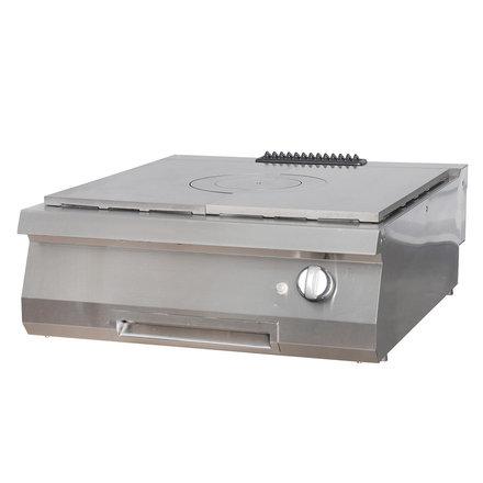 Maxima Gastro Glühplattenherd Doppel - Gas - 800 x 900 mm tief - 10000 Watt