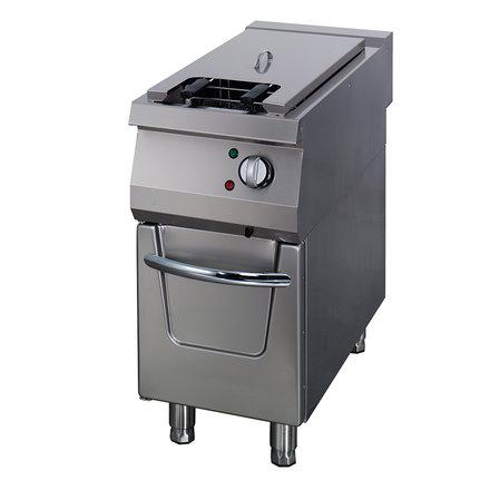 Maxima Gastro Fritteuse - Elektrisch - 1 x 22 l Öl - 400 x 900 mm tief - mit Ablasshahn - 1 x 18000 Watt
