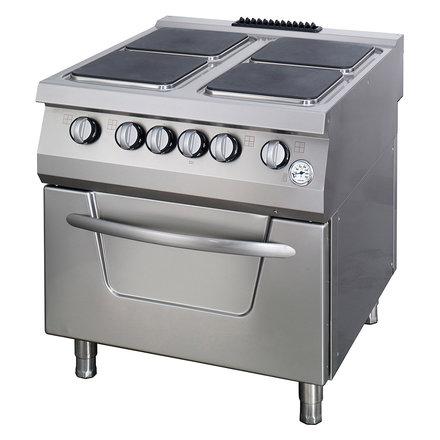 Maxima Premium Stove - 4 Burners - Including Oven - Electric