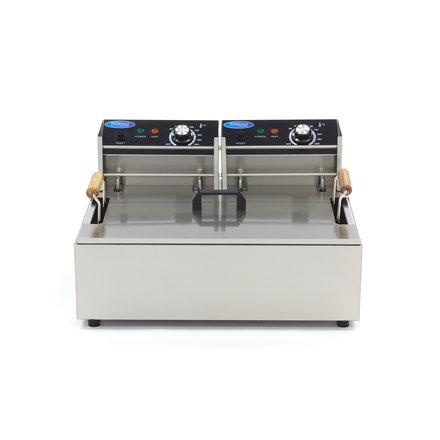 Maxima Gastro Fritteuse - Elektrisch - 1 x 15 l Öl - 2 x 3000 Watt