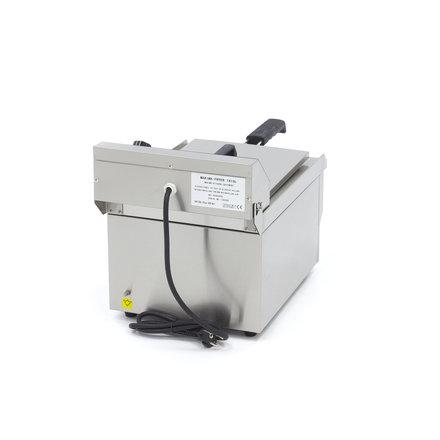 Maxima Gastro Fritteuse - Elektrisch - 1 x 13 l Öl - mit Ablasshahn - 3000 Watt