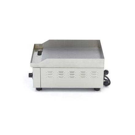 Maxima Gastro Grillplatte - Glatt - 36 cm - mit Spritzschutz - 2000 Watt