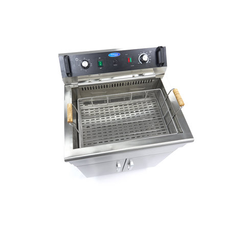 Maxima Deep Fryer 30L - with Faucet and Cupboard
