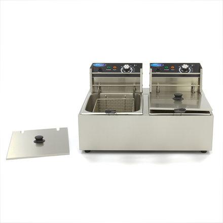 Maxima Electric Fryer 2 x 6L