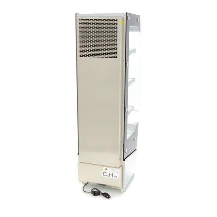 Maxima Multideck Kühlvitrine - 220 l - 460 x 280 mm - 2 bis 10 °C - mit 2 Rollen - 1340 Watt