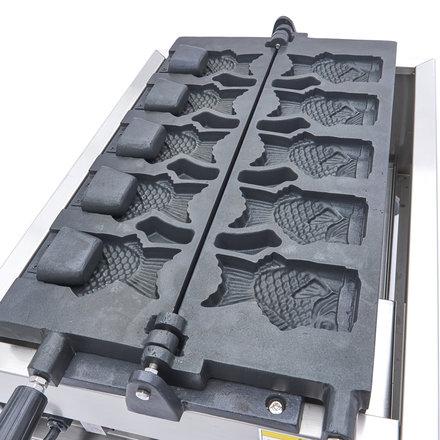 Maxima Digital Waffle Iron Taiyaki / Fish Shape - 5 Pieces