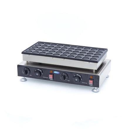 Maxima Poffertjes Backplatte - 50 Stück - Ø 45 x 7 mm (je Waffel) - 1500 Watt