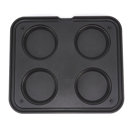Maxima Tartlet Mould - Round - 124/100 mm - 4 pieces