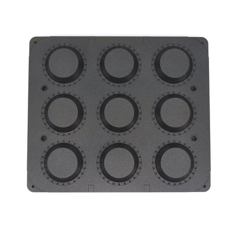 Maxima Tartlet Mould - Round - 89/65 mm - 9 pieces