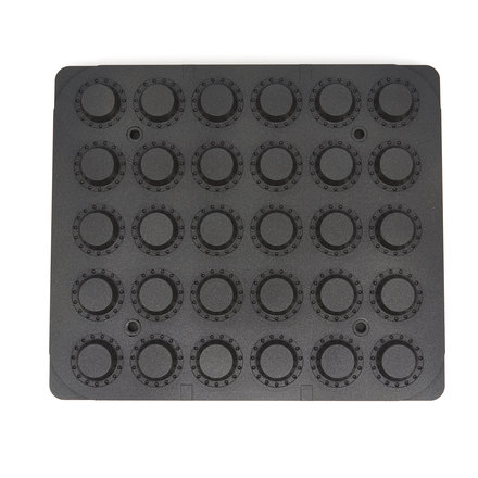 Maxima Tartlet Mould - Round - 49/38 mm - 30 pieces