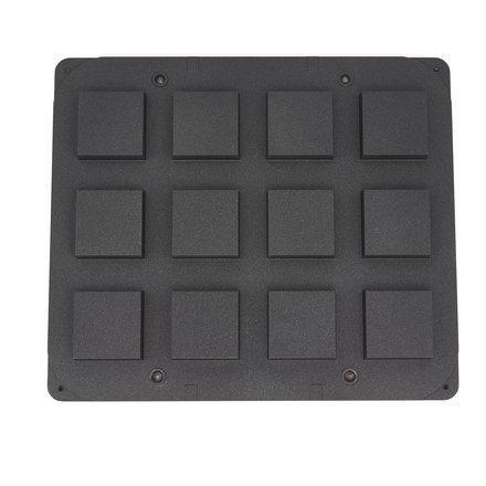 Maxima Tarteletteform - Quadrat - 72/62 mm - 12 stuks
